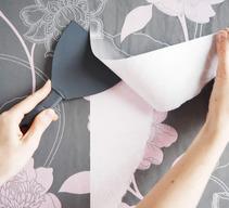 les astuces pour d coller votre papier peint artisanat de france. Black Bedroom Furniture Sets. Home Design Ideas