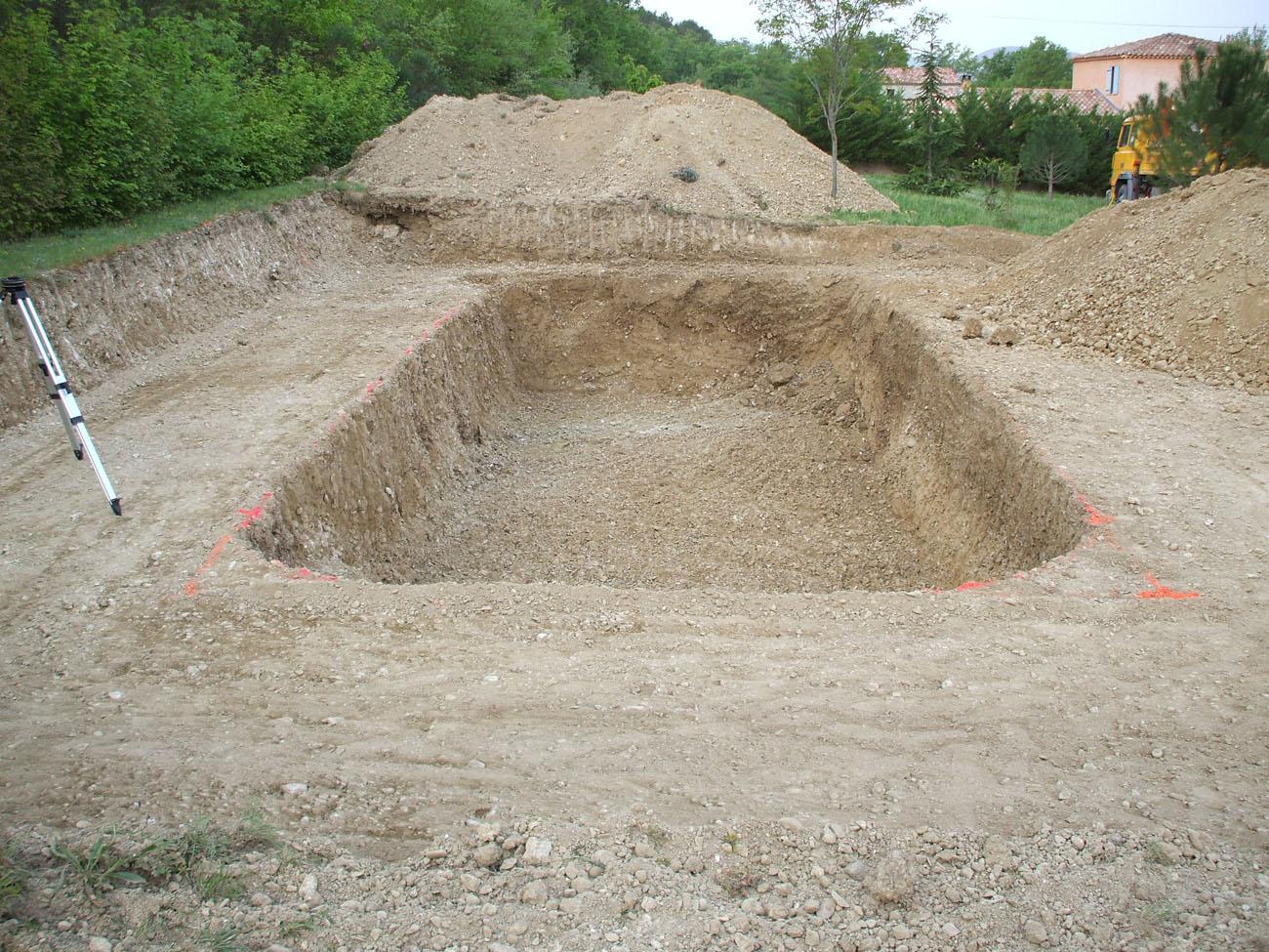 terrassement piscine devis