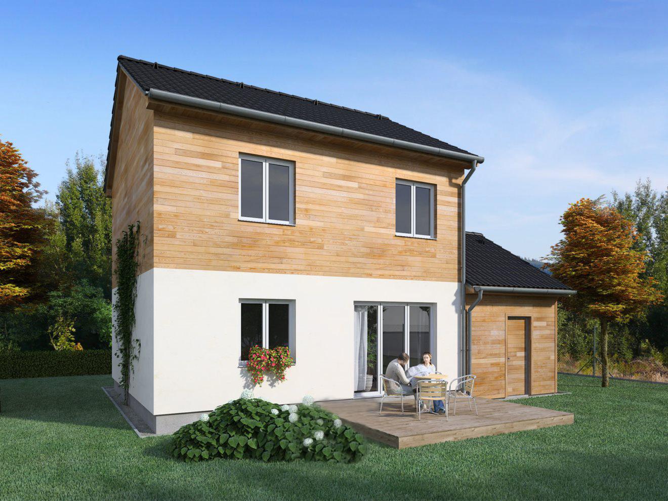 Construction de maison en bois chalon sur saone artisanat de france for La maison des artisans