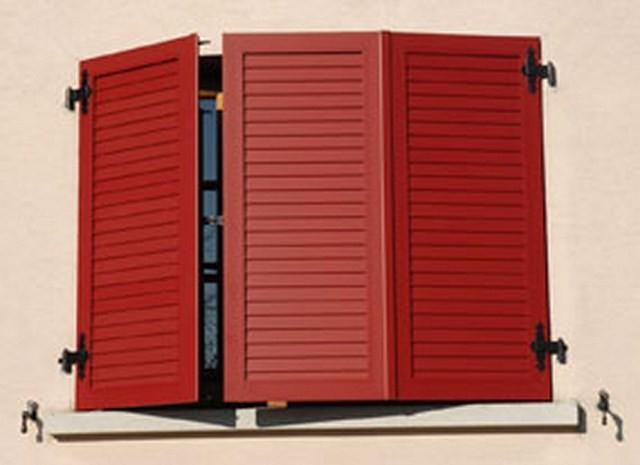 volets aluminium rouge artisanat de france. Black Bedroom Furniture Sets. Home Design Ideas